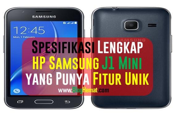 Spesifikasi Lengkap Samsung J1 Mini