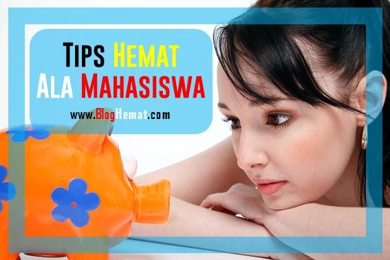 Tips Hemat Ala Mahasiswa