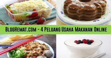 4 Peluang Usaha Makanan Online