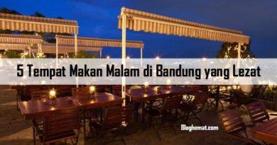 Tempat Makan Malam di Bandung