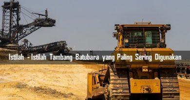 Istilah Tambang Batubara
