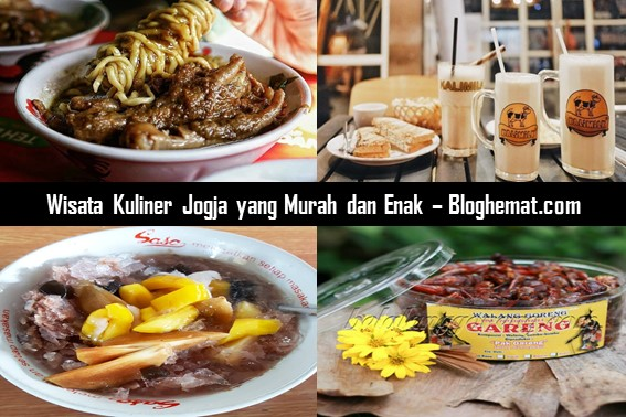 Wisata Kuliner Jogja yang Murah dan Enak