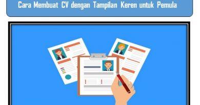 Cara Membuat CV untuk Pemula