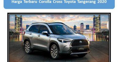 Harga Terbaru Corolla Cross Toyota Tangerang 2020