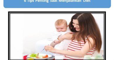 Tips Penting Saat Menjalankan Diet Aman bagi Ibu Menyusui