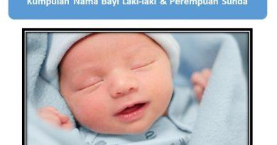 Kumpulan Nama Bayi Laki-laki & Perempuan Sunda