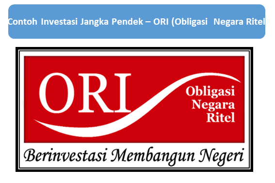 Contoh Investasi Jangka Pendek, ORI (Obligasi  Negara Ritel)