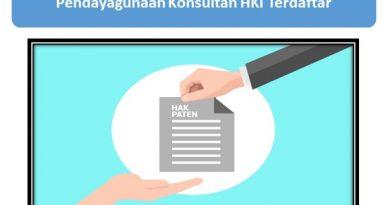 Konsultan HKI Terdaftar
