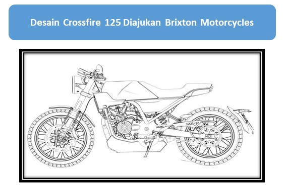 Desain Crossfire 125 Diajukan Brixton Motorcycles